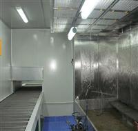 无泵水帘喷漆房